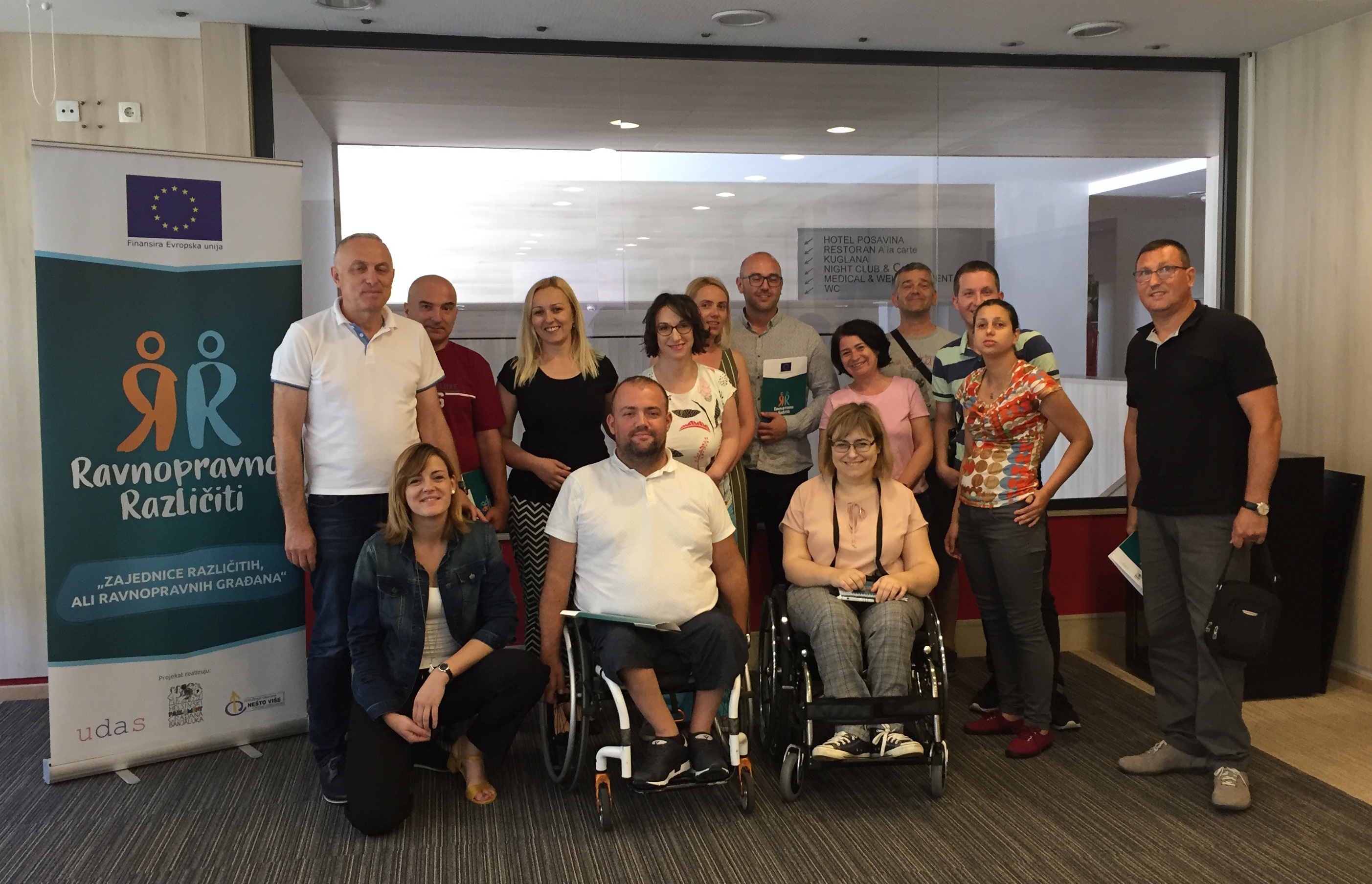 """The Road to the European Union: People With Disabilities Will Report on the Situation of Human Rights in BiH – UG """"Nešto Više"""""""