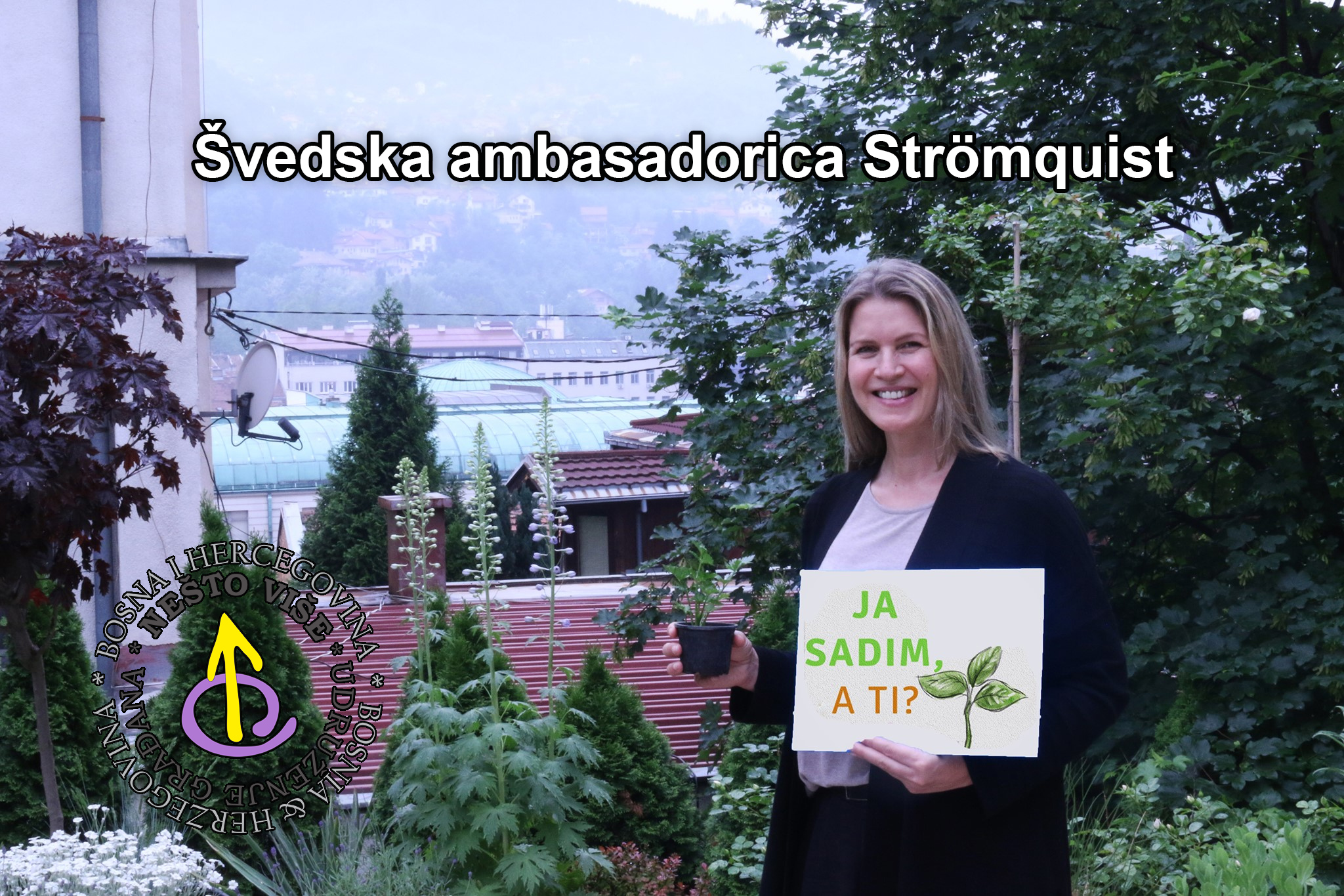 švedska ambasadorica Johanna Strömquist